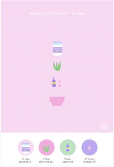 Aloe Vera moisturizer