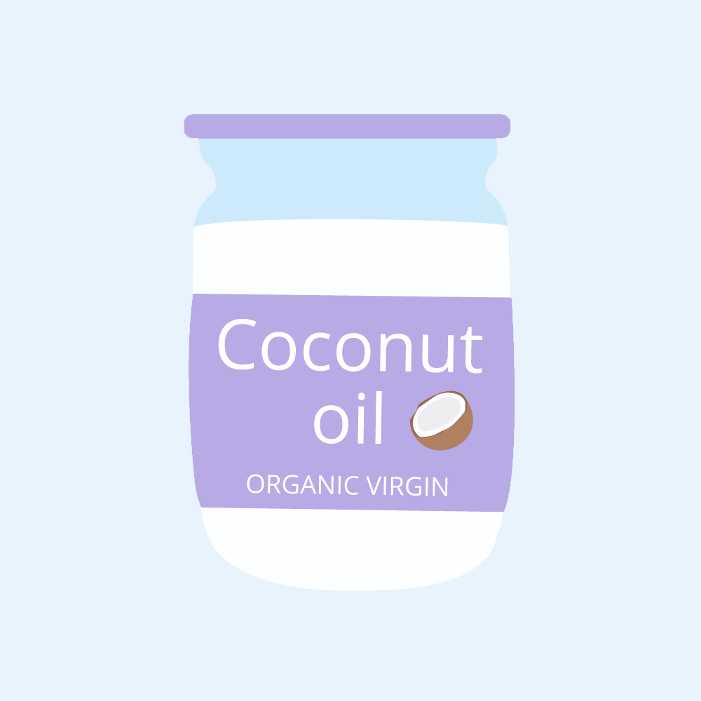 Organic virgin coconut oil is the best