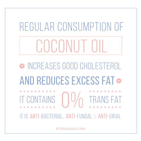 Using coconut oil for health