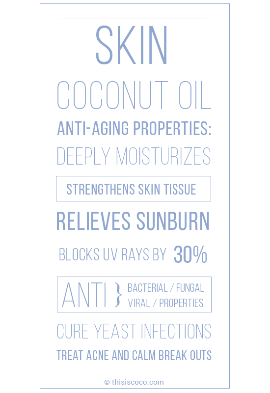 Why coconut oil is so good for your skin