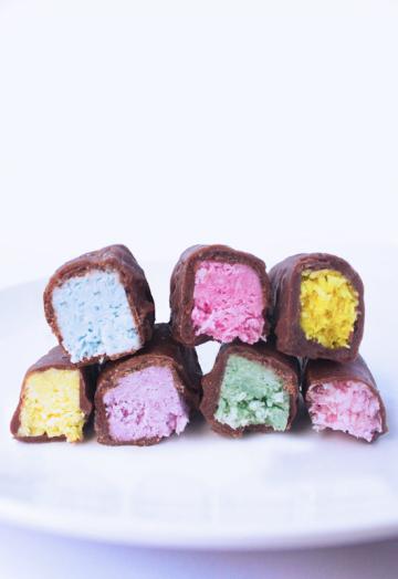 Unicorn rainbow bounty bars