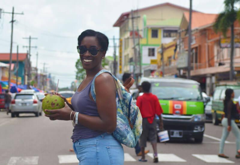 Danielle in Guyana