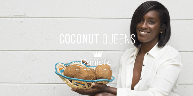 Danielle CEO of Indigenous Coconut Oil from Guyana